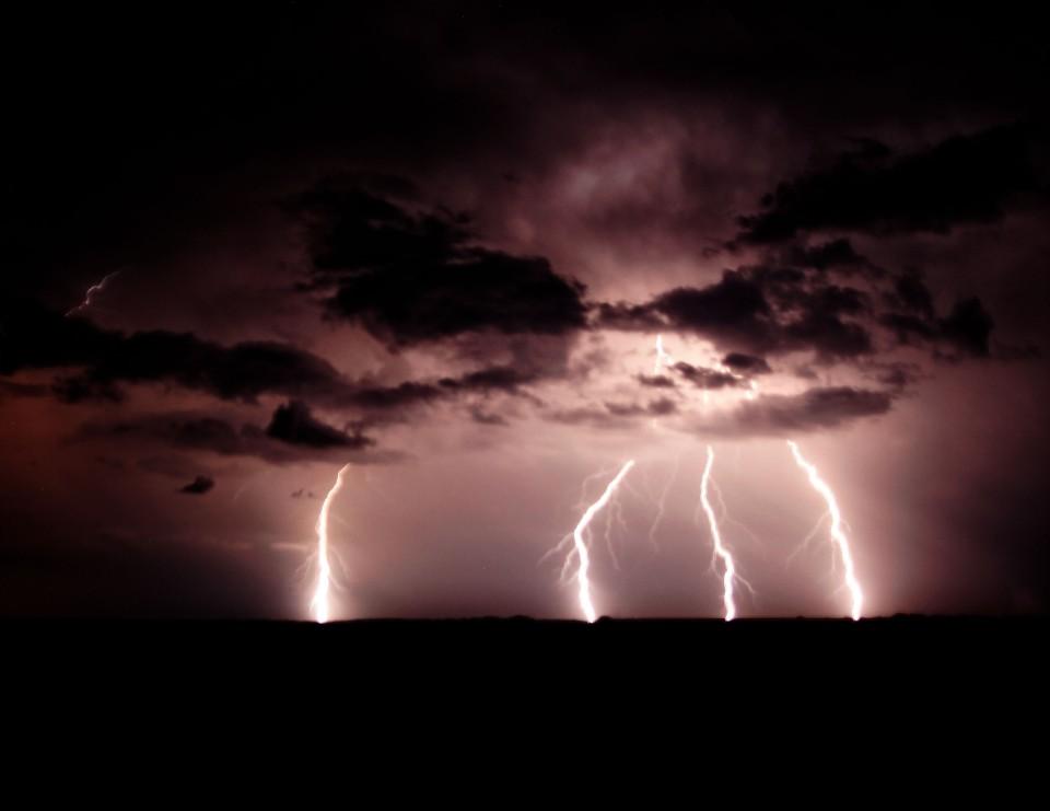 Lightning Over OK
